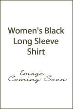 Women's Black Long Sleeve Shirt